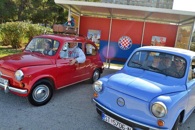 Supermini, guided city roadtrip, oldtimer Fico, Split