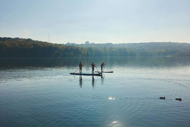 SUP TOURS on Valea Morilor lake