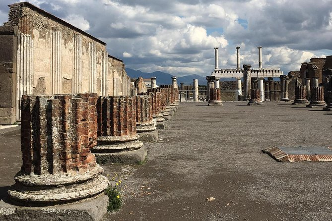 From Sorrento: Pompeii Herculaneum and wine testing