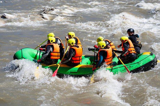 Rafting in Borjomi