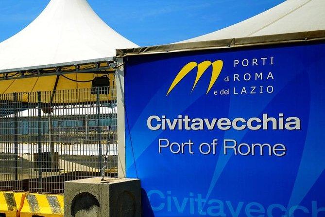 Private transfer from Civitavecchia Port to Fiumicino Airport or vv