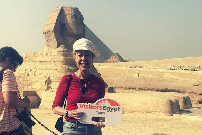5-Hours Tour at The Pyramids of Giza (Including Camel Ride)