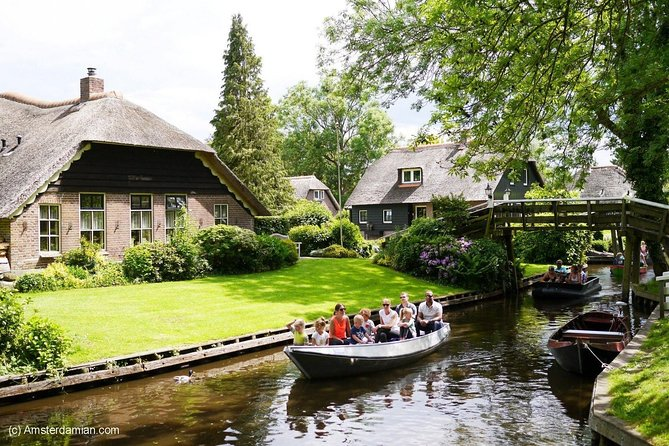 Full Day Tour from Amsterdam to Zaanse Schans - Afsluitdijk - Giethoorn photo 3