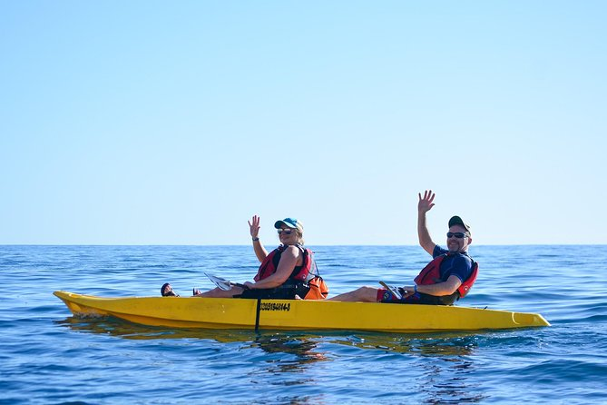 Cabo San Lucas Glass Bottom Kayak Tour and Snorkel at Two Bays