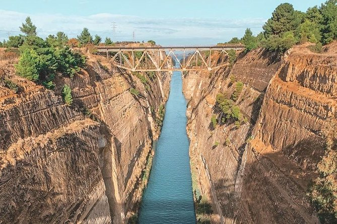 Temple of Apollon and Corinth canal trip from Athens