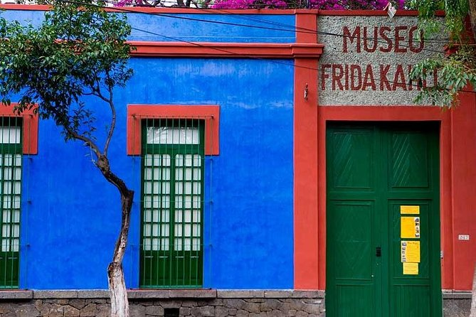 Tickets & Transport to Frida Kahlo's Museum & Diego Rivera's Studio