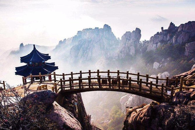 Qingdao Private Day Tour to Laoshan Mountain with Lunch and Cable Car