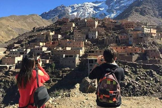 Atlas Mountains And Toubkal Massif & Waterfalls Private Day Trek From Marrakech
