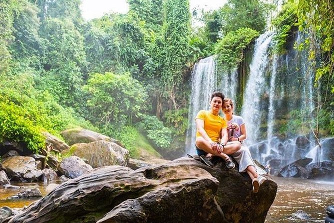 5HR: Phnom Kulen, 1000 Linga River and Waterfall Small Group Day Private Tour