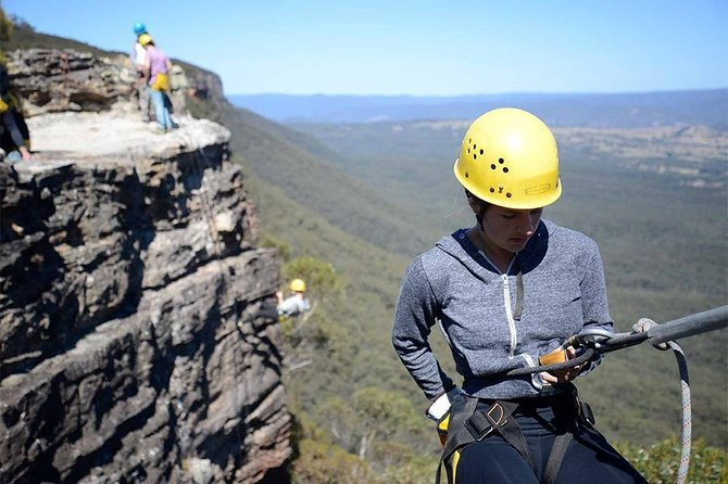 Amazing Full Day Abseiling Adventure in the Blue Mountains