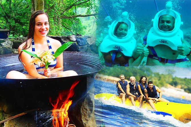 Boracay Island Hopping + Hot Kawa Bath+Helmet Diving+Banana Boat (Amihan Season)