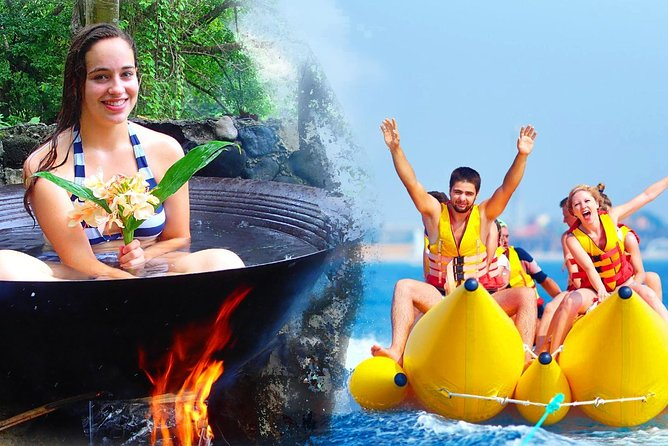 Boracay Island Hopping + Hot Kawa Bath + Banana Boat (Amihan Season)