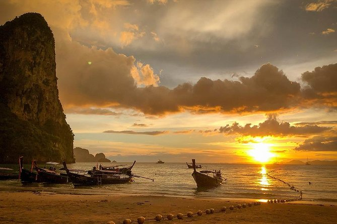 Hong Island Sunset Tour with BBQ Dinner by Longtail Boat from Krabi photo 3