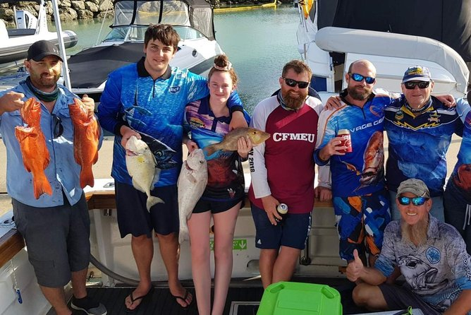 Morning Half Day Fishing Charter Airlie Beach Whitsundays