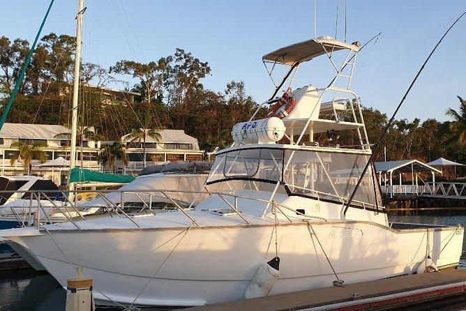 Morning Half Day Fishing Charter Airlie Beach Whitsundays