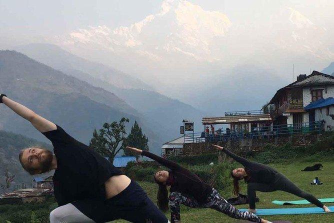 Ghorepani Poon Hill Yoga Trek