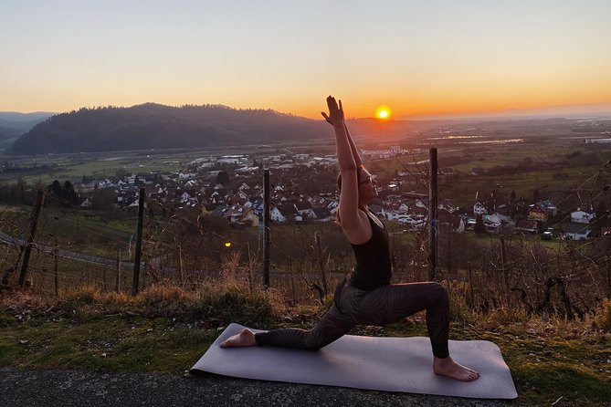 (Outdoor) yoga in the Black Forest