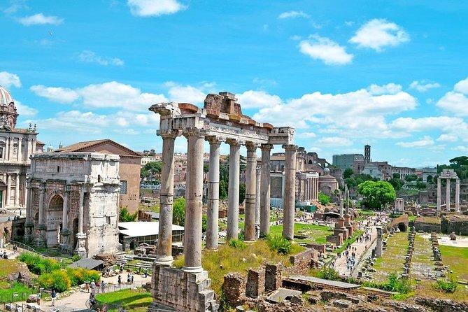 Tour Palatine hill - Roman Forum - next day Tour Colosseum