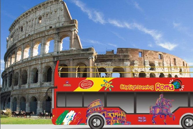 Colosseum Skip the line + 24H Bus hop on hop off