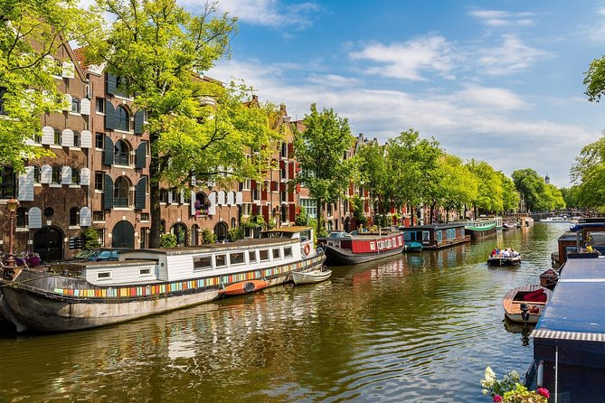 Private Walking Tour of Amsterdam + Join-in public Boat Tour