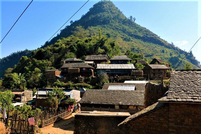 Local houses in Bandipur
