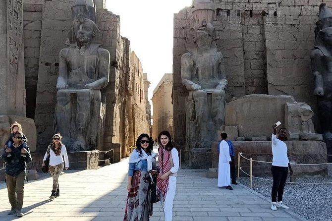 Luxor Full-Day Tour:Discover the East and West Banks of the Nile from Luxor city
