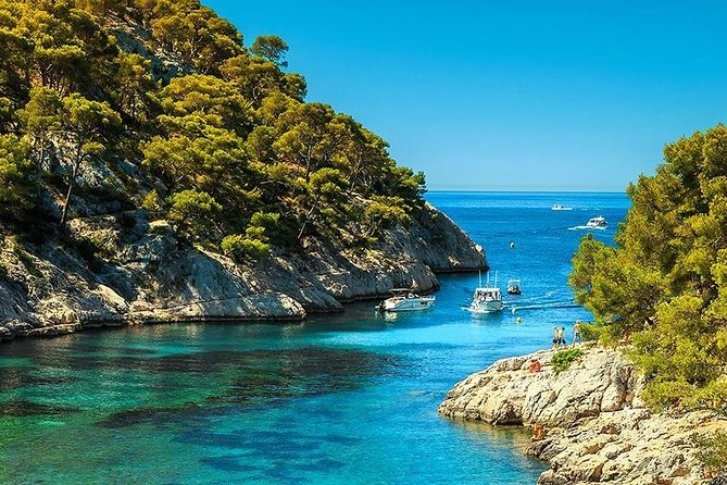 Calanques of Cassis, Aix-en-Provence & Wine Tasting Private Tour