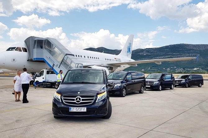 Luxury private transfer: Dubrovnik to Dubrovnik airport