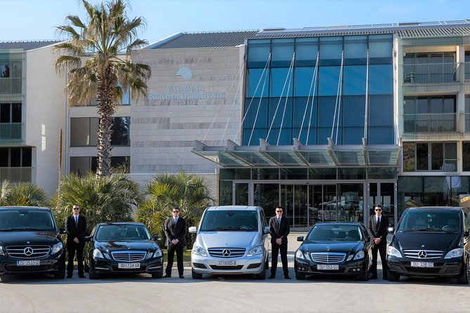 Luxury private transfer: Dubrovnik airport to Dubrovnik