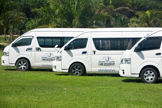 Aéroport de Phuket - Khao Lak - Transfert privé en minibus