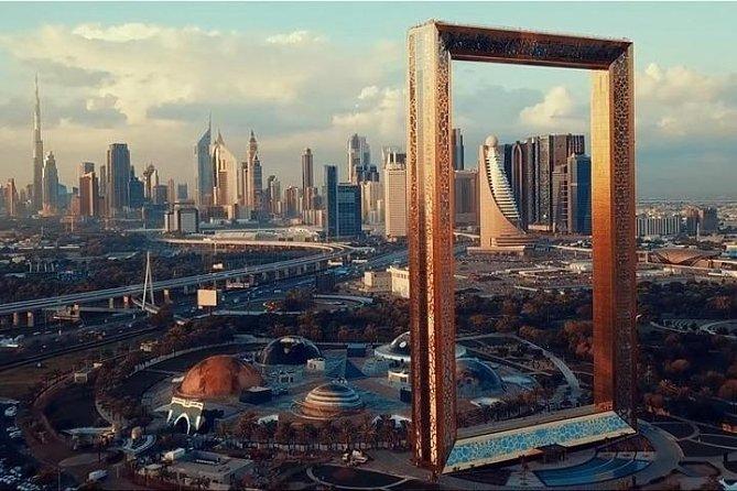 Dubai City Tour & Dubai Frame with Ticket | Combo Package