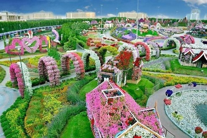 Miracle Garden Dubai Ticket with Transfer