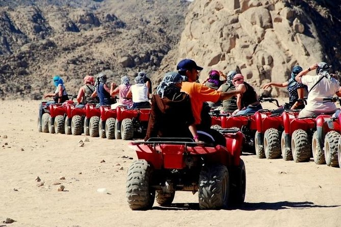 Day Tour to Quad biking with Camel ride & Beduin dinner in Egypt