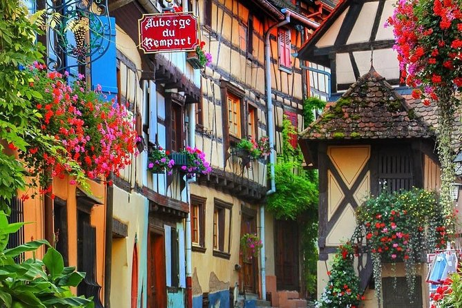 Private transfer from Strasbourg to Eguisheim or the opposite way