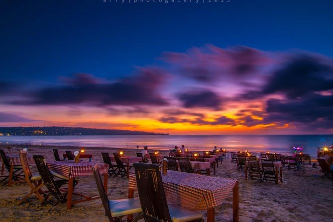 Private Seafood Dinner at Jimbaran Beach