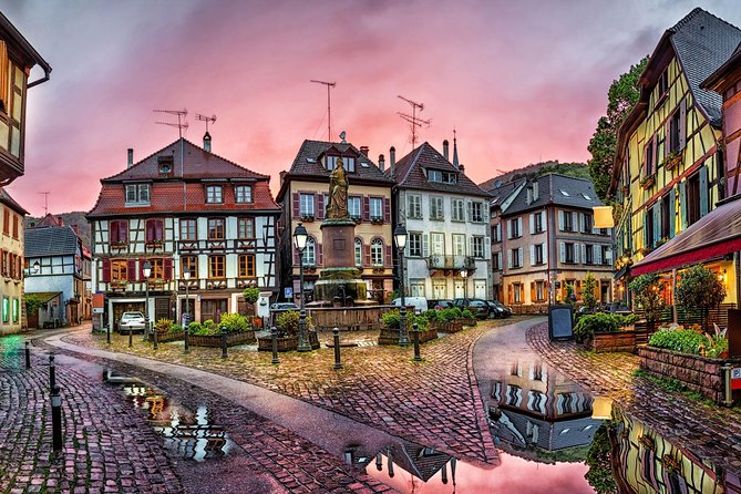 Private transfer from Strasbourg to Ribeauvillé or the opposite way