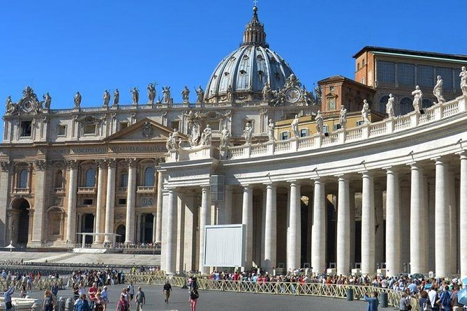 Best of Rome : Vatican Museums and St. Peter's Tour including Papal Tombs