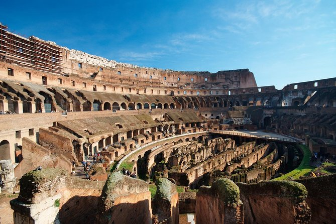 Skip the line Colosseum at your pace with Hosted Entrance