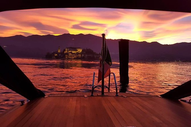 Lake of Orta - private cruise at sunset