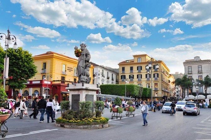 Pompeii, Sorrento and Amalfi Coast private tour