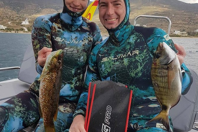 Private Spearfishing Trip From Athens