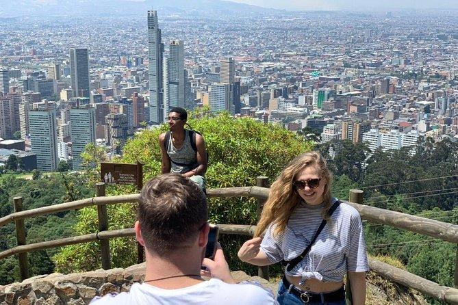 Monserrate Bogotá, breakfast and walk.