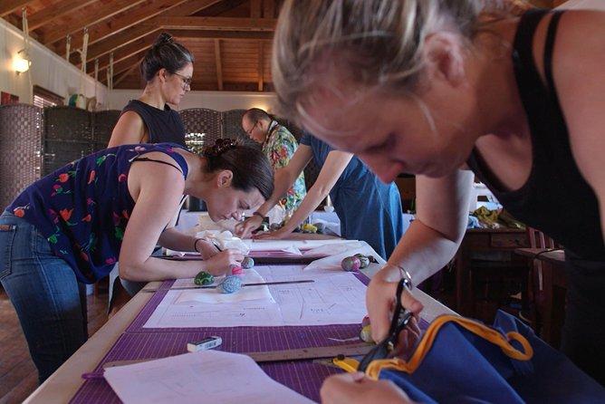 Sewing on Saba Retreat