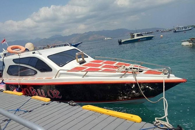 Private Shuttle to Gili trawangan (Car & Private Speed Boat)