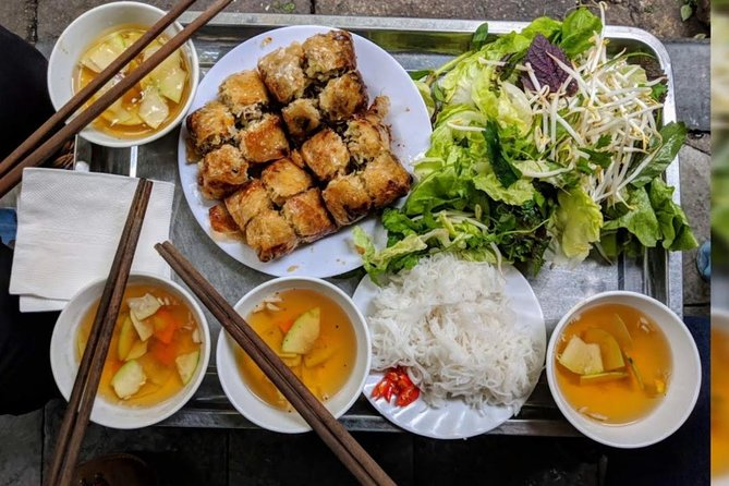 Local Street Food Tour in Hanoi with Local Expert Private Tour