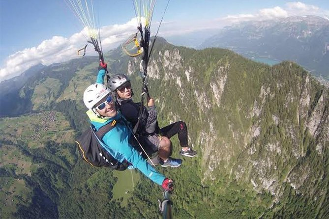 Manado Skyline Paragliding includes hotel transfers