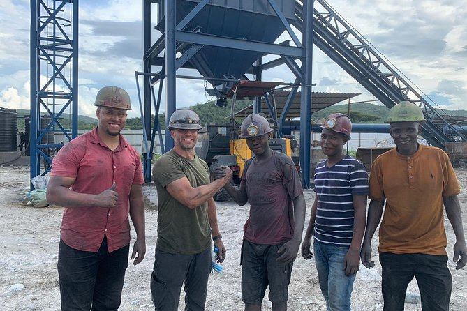 First hand Tanzanite mining experience at Mererani mines.