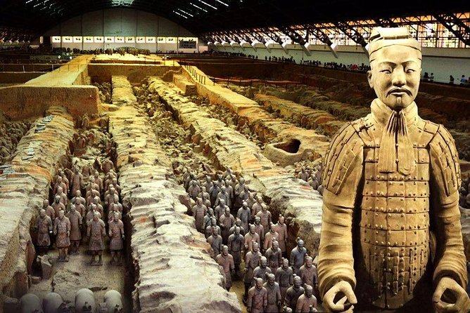 Private Tour Terracotta Warrior, Big Wild Goose Pagoda, Muslim Bazaar from Xi'an