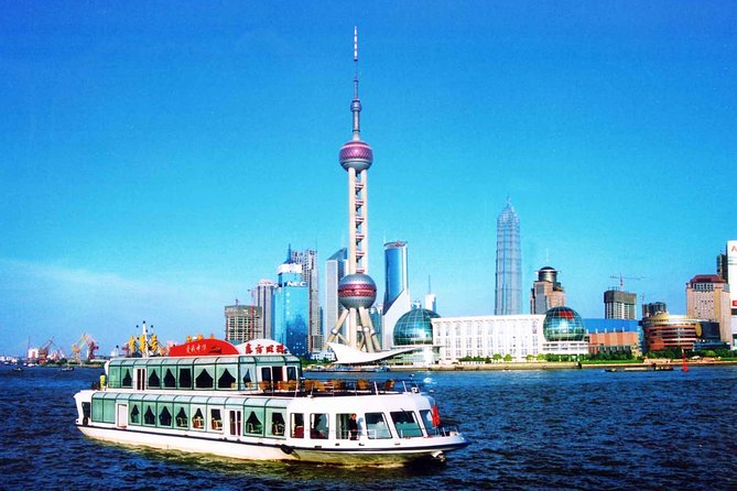 Shanghai City Highlights Private Day Tour with Huangpu River Cruise