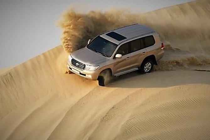 Evening Desert Private Safari with Camel Ride & BBQ Dinner